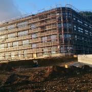 Landeskrankenhaus Baden Bau 2014
