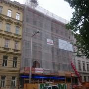 Sockelsanierung Lerchenfelderguertel Wien