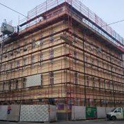 Dachbodenausbau Albrechtskreithgasse Wien
