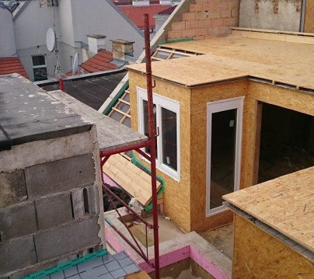 Dachbodenausbau Schallergasse Wien