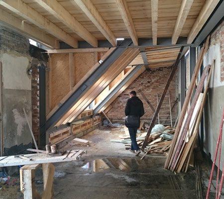 Dachbodenausbau B